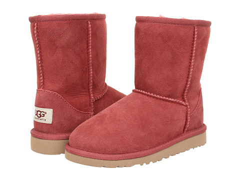 UGG Kids - Classic (Little Kid/Big Kid) (Redwood) Kids Shoes