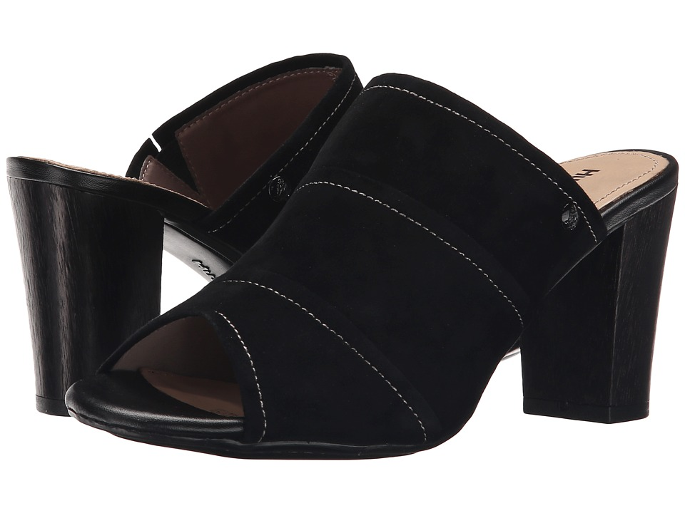 Hush Puppies - Mora Malia (Black Suede) Women