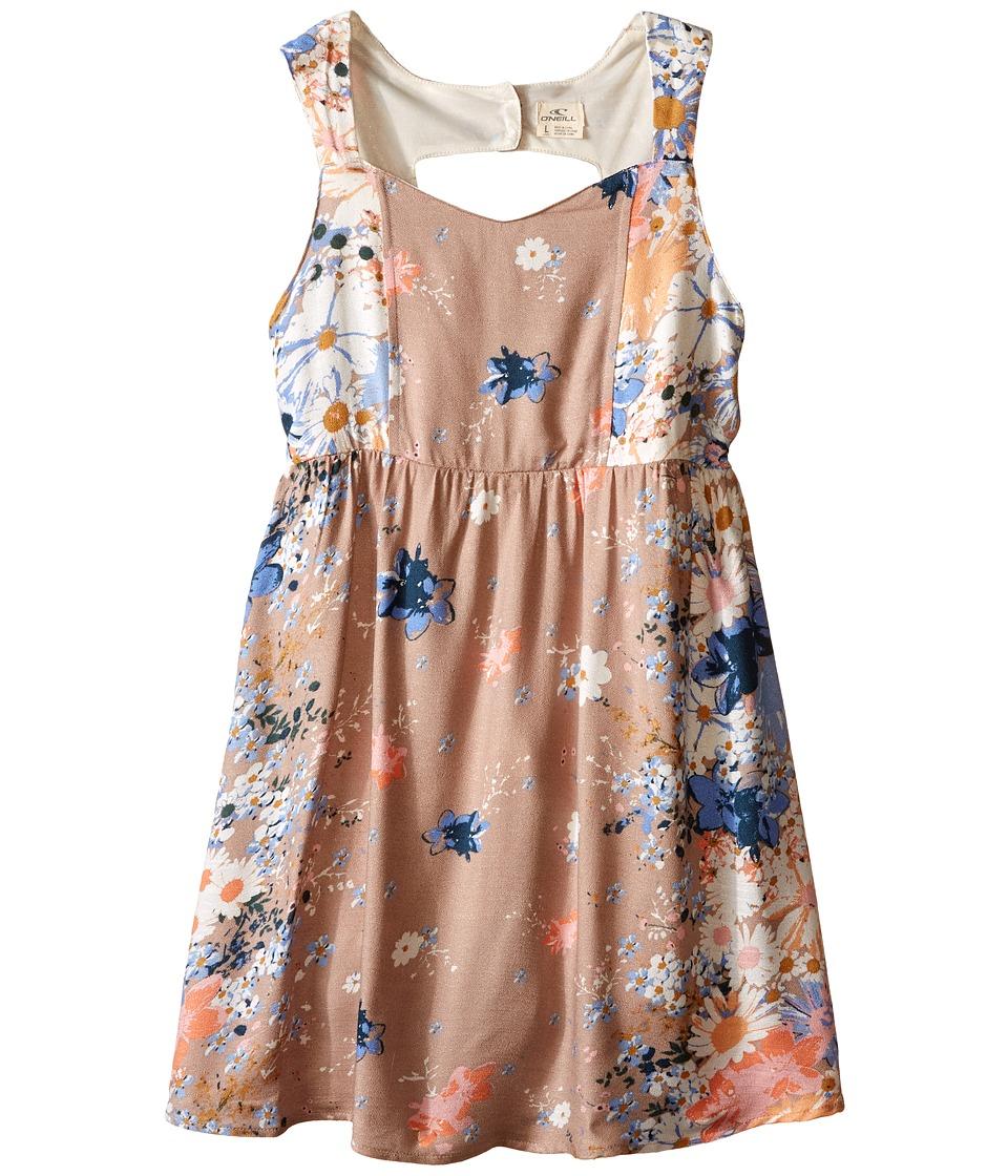 O'Neill Kids - Pollie Dress (Little Kid/Big Kid) (Tan) Girl's Dress
