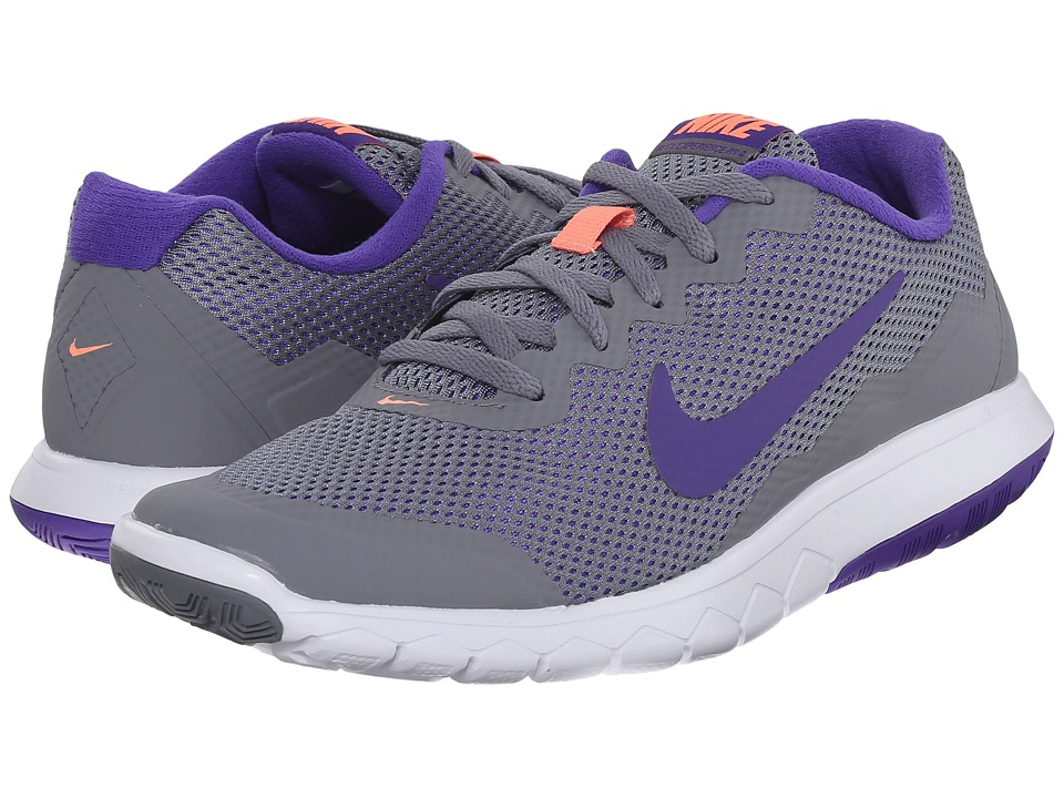 Nike - Flex Experience Run 4 (Cool Grey/Atomic Pink/White/Fierce Purple) Women's Running Shoes