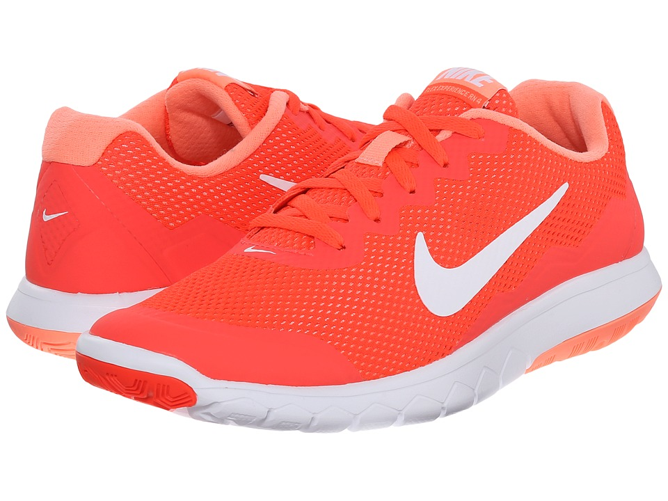 Nike - Flex Experience Run 4 (Bright Crimson/Atomic Pink/White/White) Women's Running Shoes