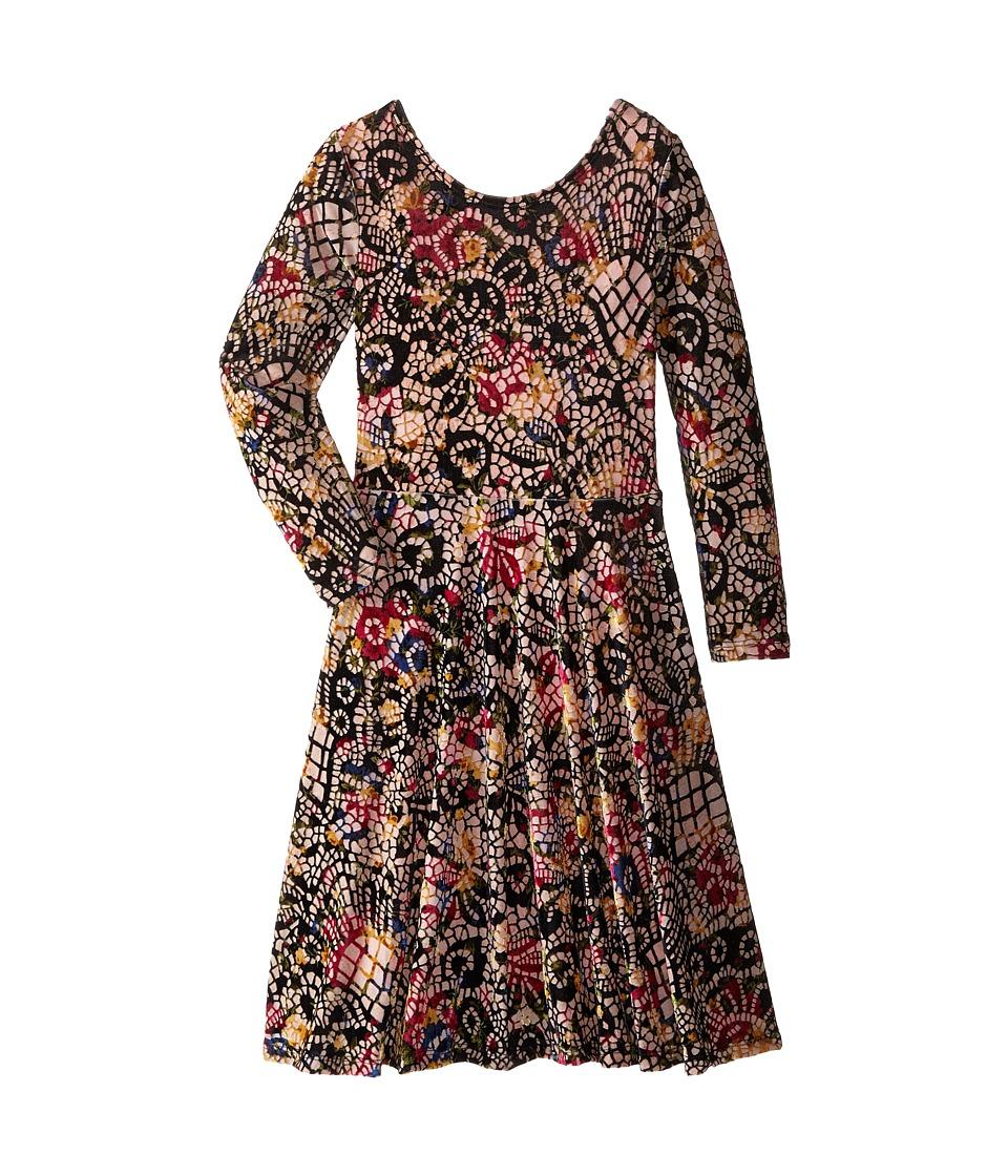 fiveloaves twofish - Victorian Velvet Dress (Little Kids/Big Kids) (Multi) Girl's Dress