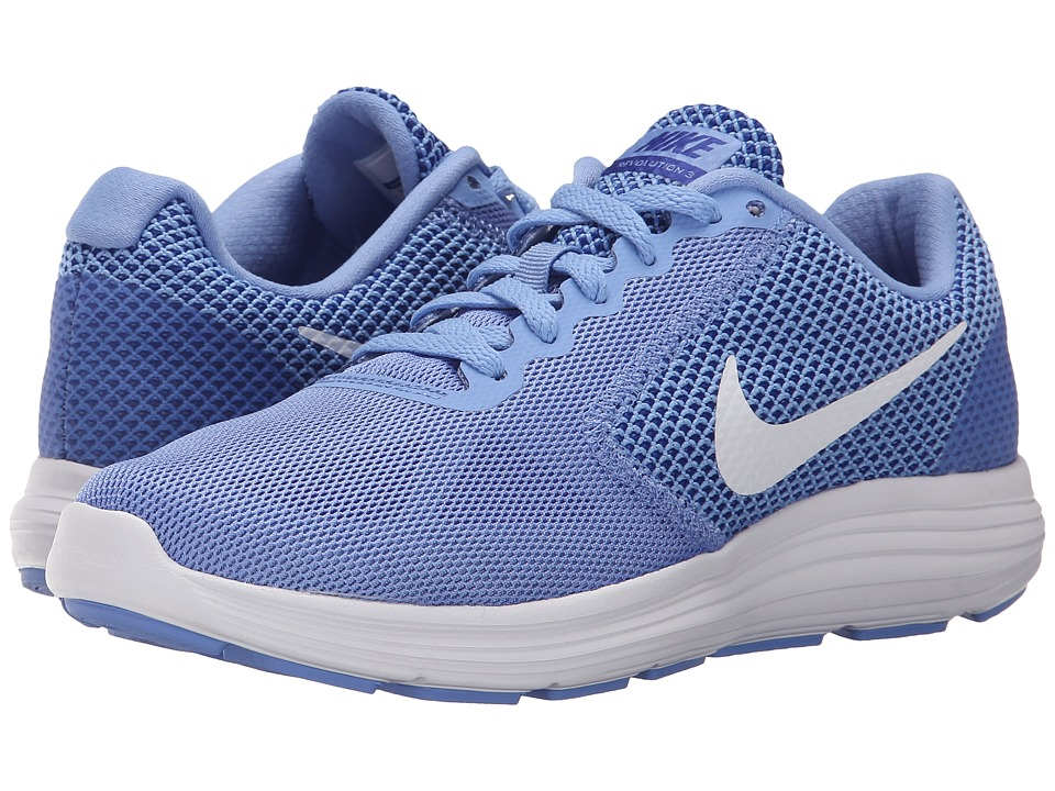 Womens Nike Revolution 3 Running Shoe Chalk Blue