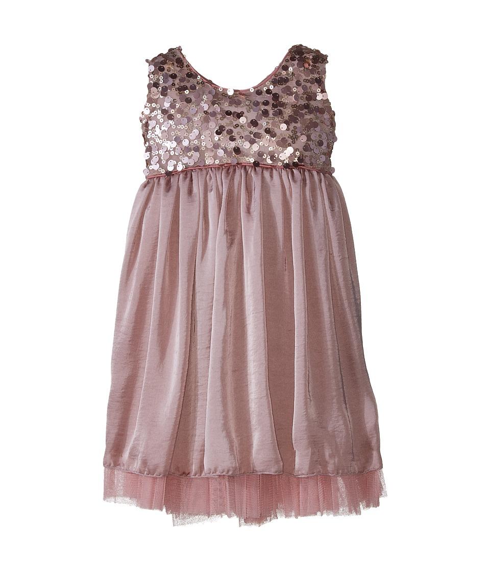 fiveloaves twofish - Westward Swing Dress (Toddler/Little Kids/Big Kids) (Rose) Girl's Dress
