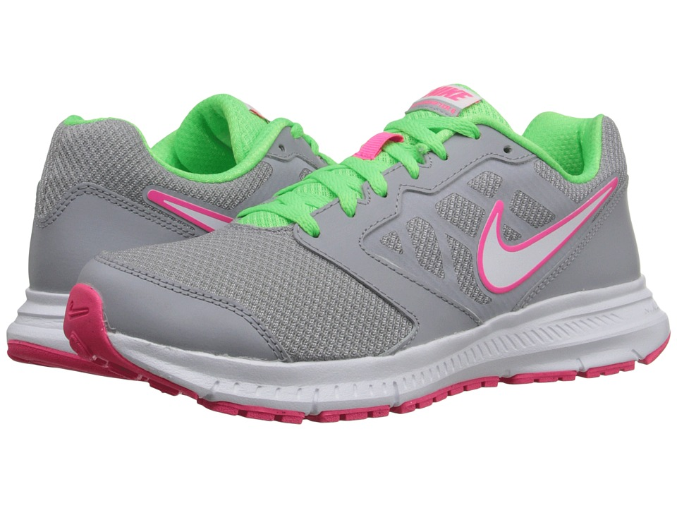 Nike - Downshifter 6 (Wolf Grey/Voltage Green/White) Women's Running Shoes
