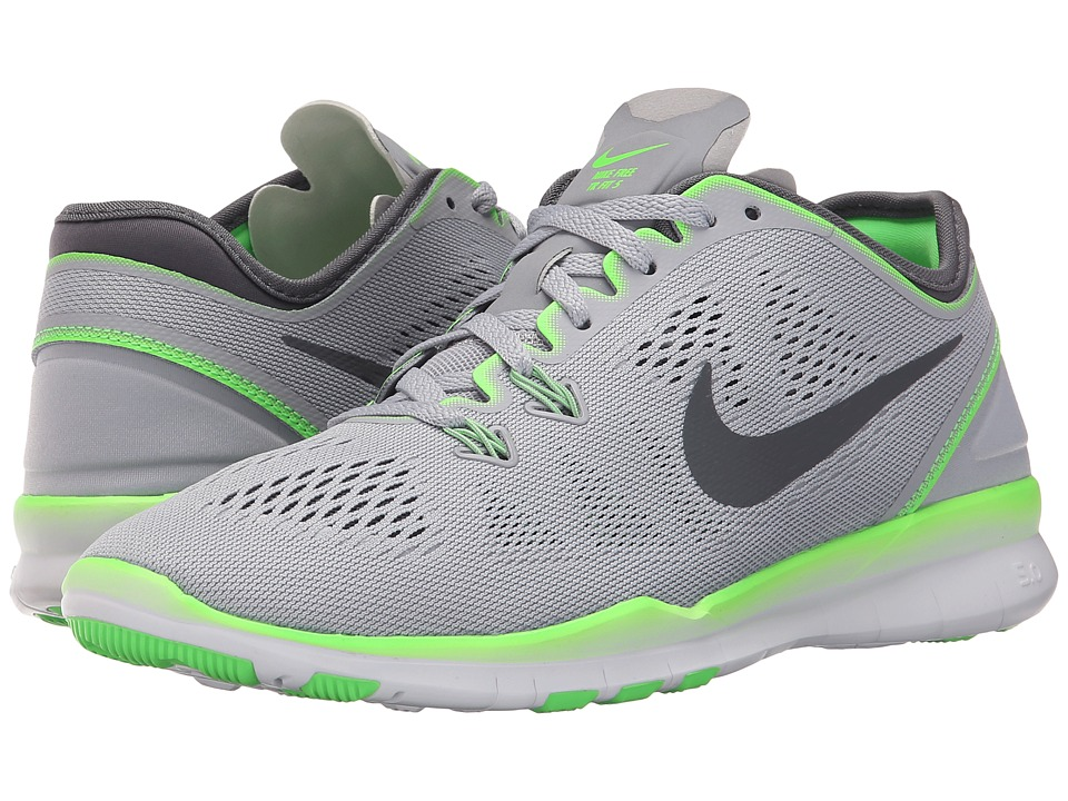 Nike - Free 5.0 TR Fit 5 (Wolf Grey/Voltage Green/Dark Grey) Women's Cross Training Shoes