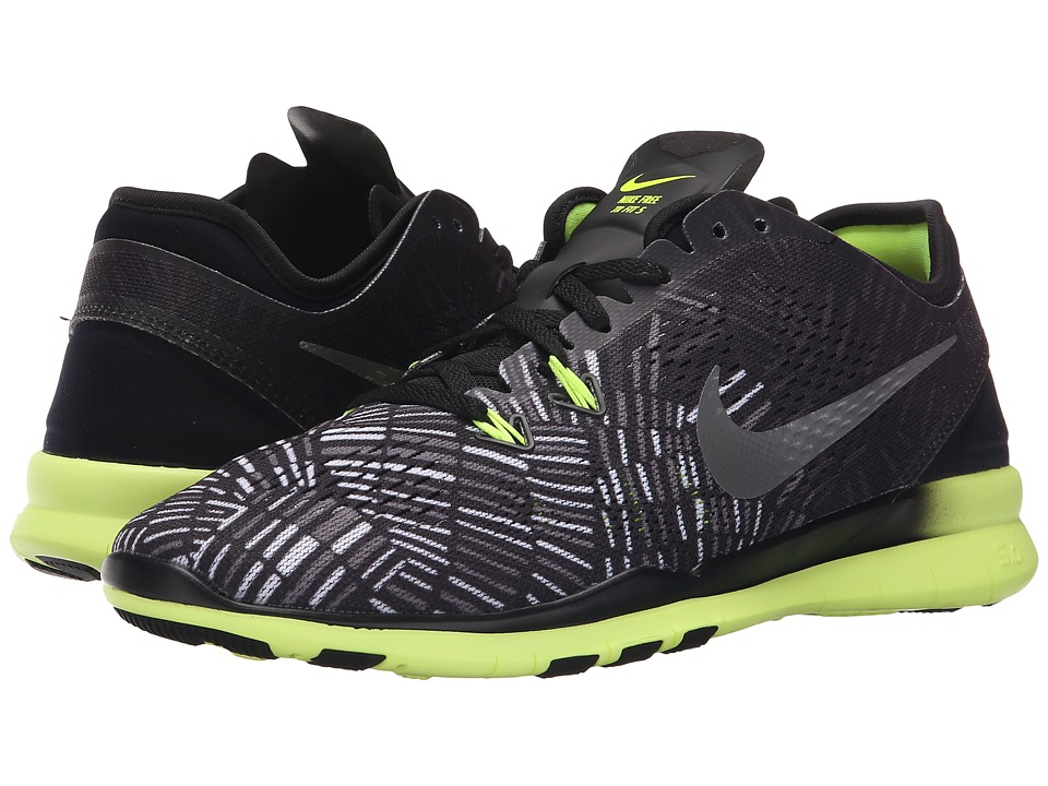 Nike - Free 5.0 TR Fit 5 PRT (Black/Volt/Black) Women's Cross Training Shoes