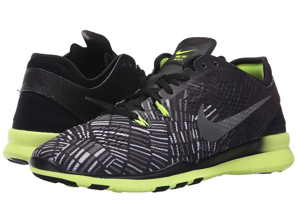 Nike - Free 5.0 TR Fit 5 PRT (Black/Volt/Black) Women's Cross Training Shoes