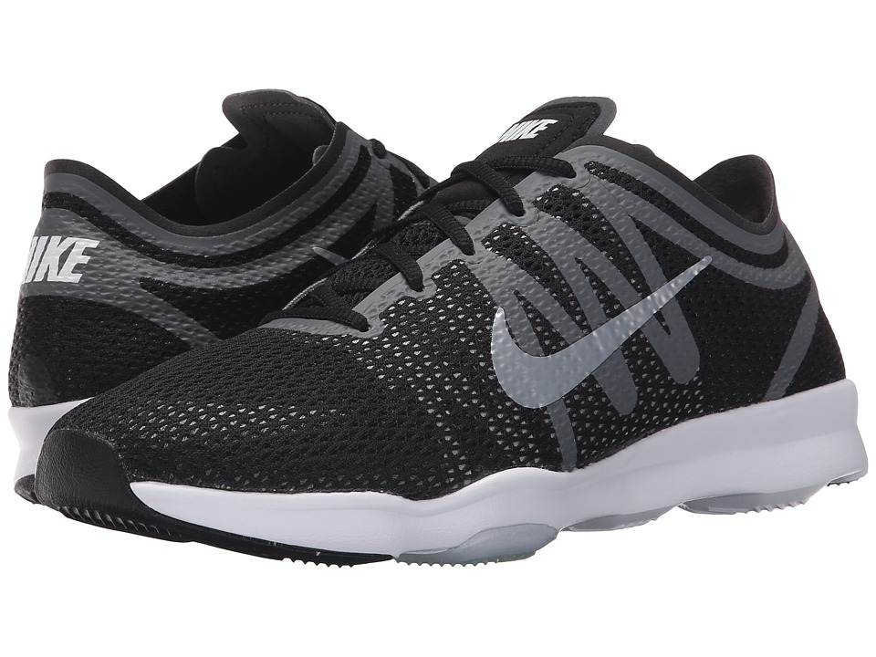 Nike - Zoom Fit 2 (Black/Dark Grey/Wolf Grey/White) Women's Cross Training Shoes