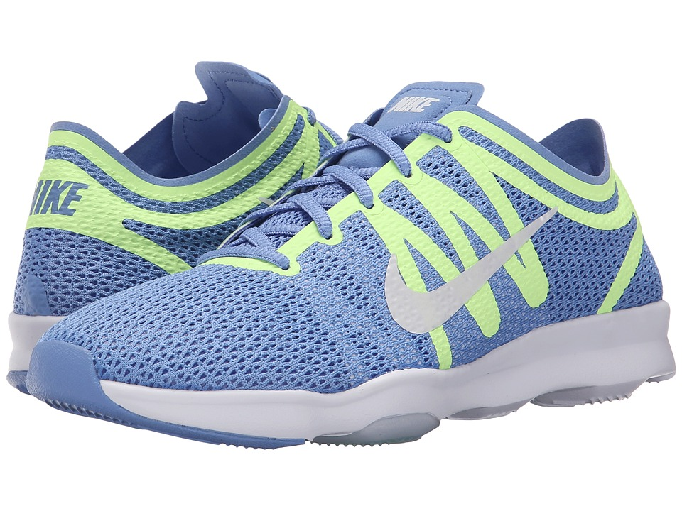 Nike - Zoom Fit 2 (Chalk Blue/Ghost Green/Racer Blue/White) Women's Cross Training Shoes