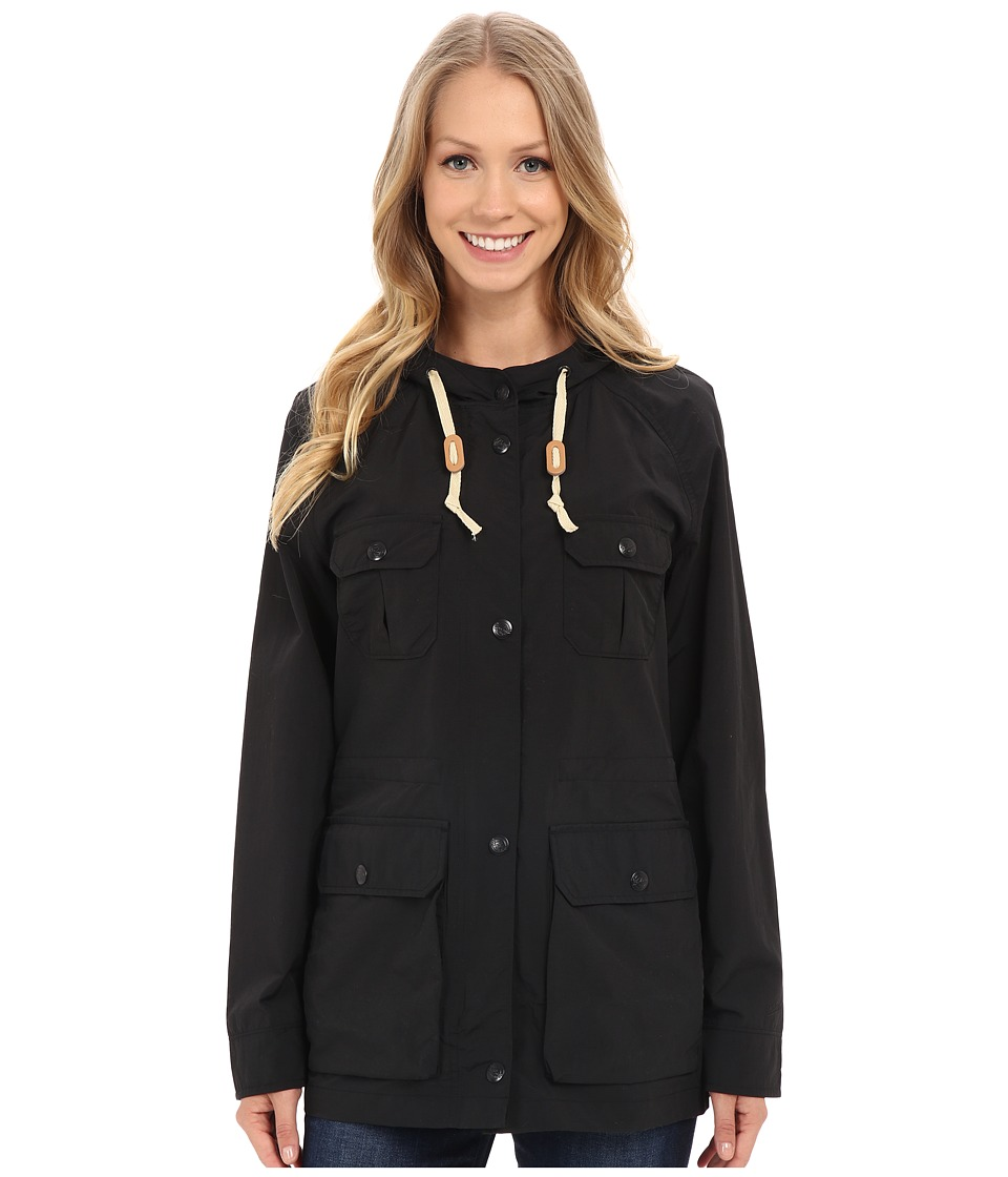 Woolrich - Lightweight Mountain Parka (Black) Women's Jacket