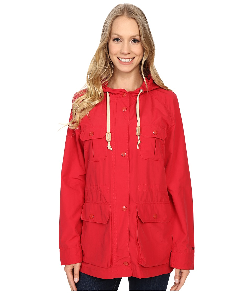 Woolrich - Lightweight Mountain Parka (Old Red) Women