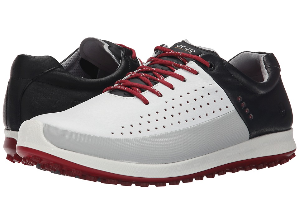 ECCO Golf - Biom Hybrid 2 HM (White/Concrete/Black) Men's Shoes