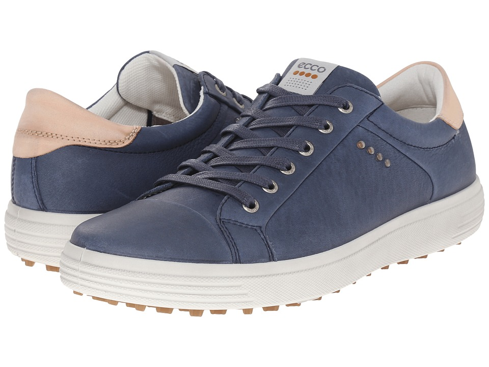 ECCO Golf - Golf Casual Hybrid (Denim Blue) Men's Golf Shoes