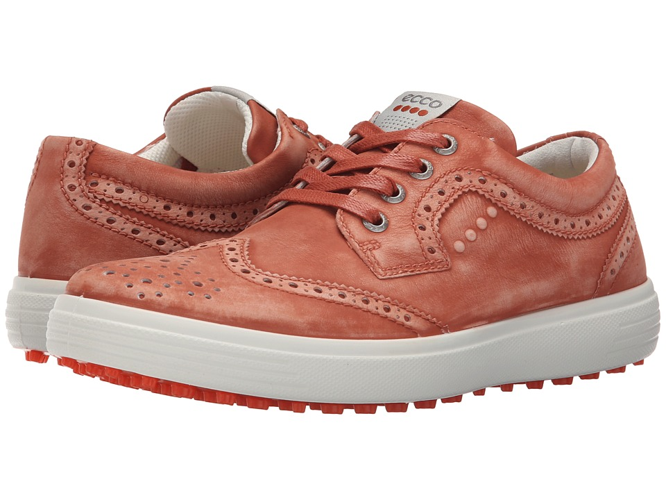 ECCO Golf - Casual Hybrid Wingtip (Picante) Men's Golf Shoes
