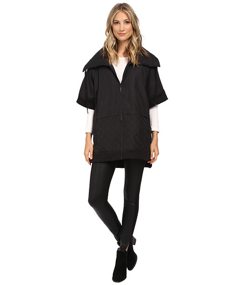 DKNY Jeans - Quilted Cape (Noir) Women