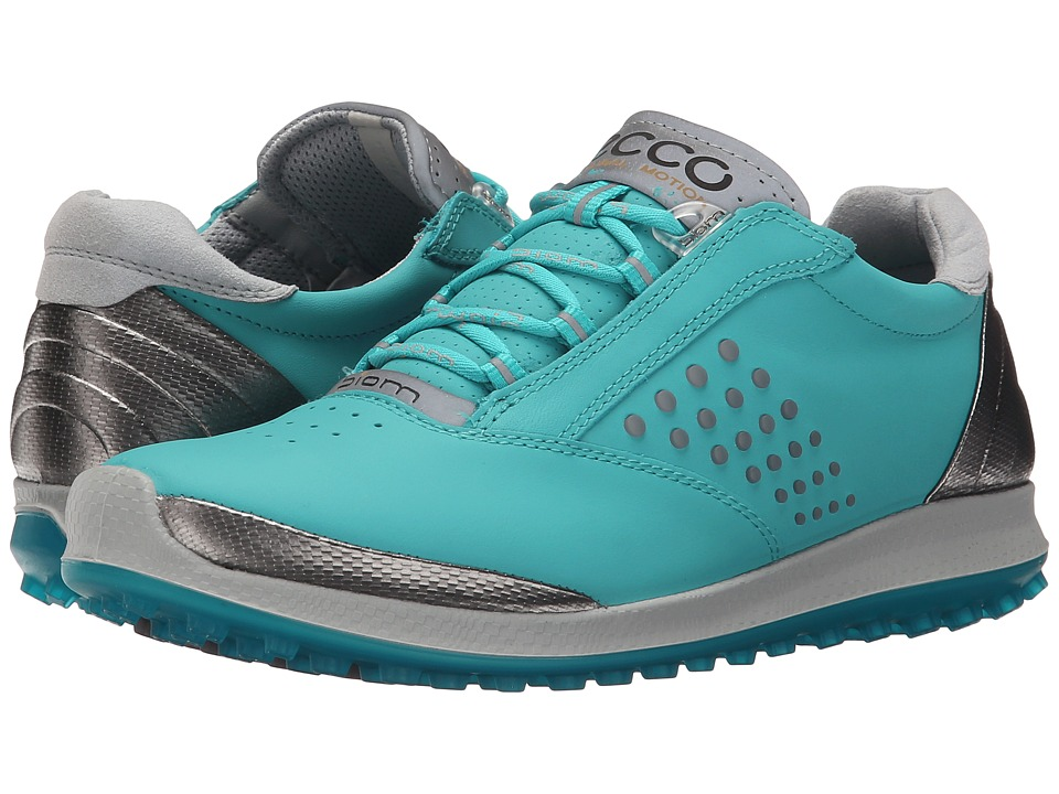 ECCO Golf - BIOM Hybrid 2 (White/Meadow) Women's Golf Shoes