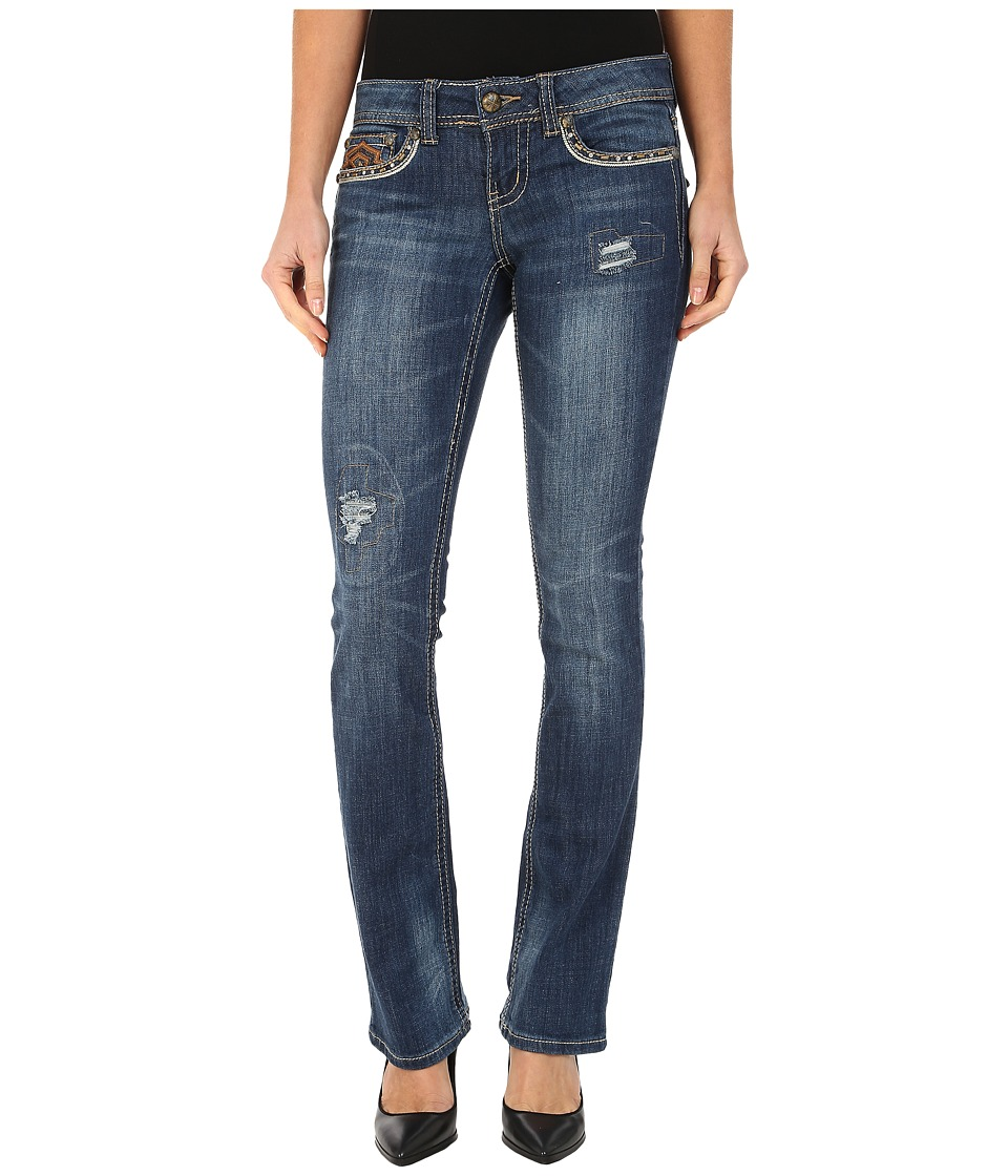 Image of Antique Rivet - Boot Leg Stretch Jeans in Harvest Wash (Harvest Wash) Women's Jeans