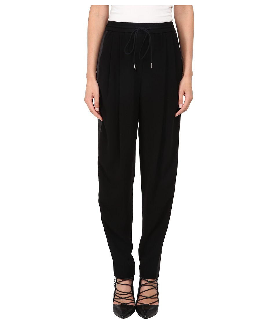 McQ - Loose Tux Trousers (Black) Women's Casual Pants