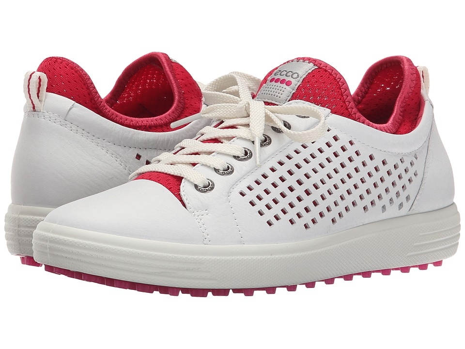 ECCO Golf - Summer Hybrid (White Raspberry) Women's Golf Shoes
