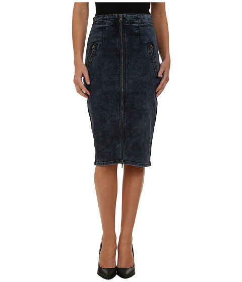 DKNY Jeans - High Rise Denim Skirt (Kurt Wash) Women