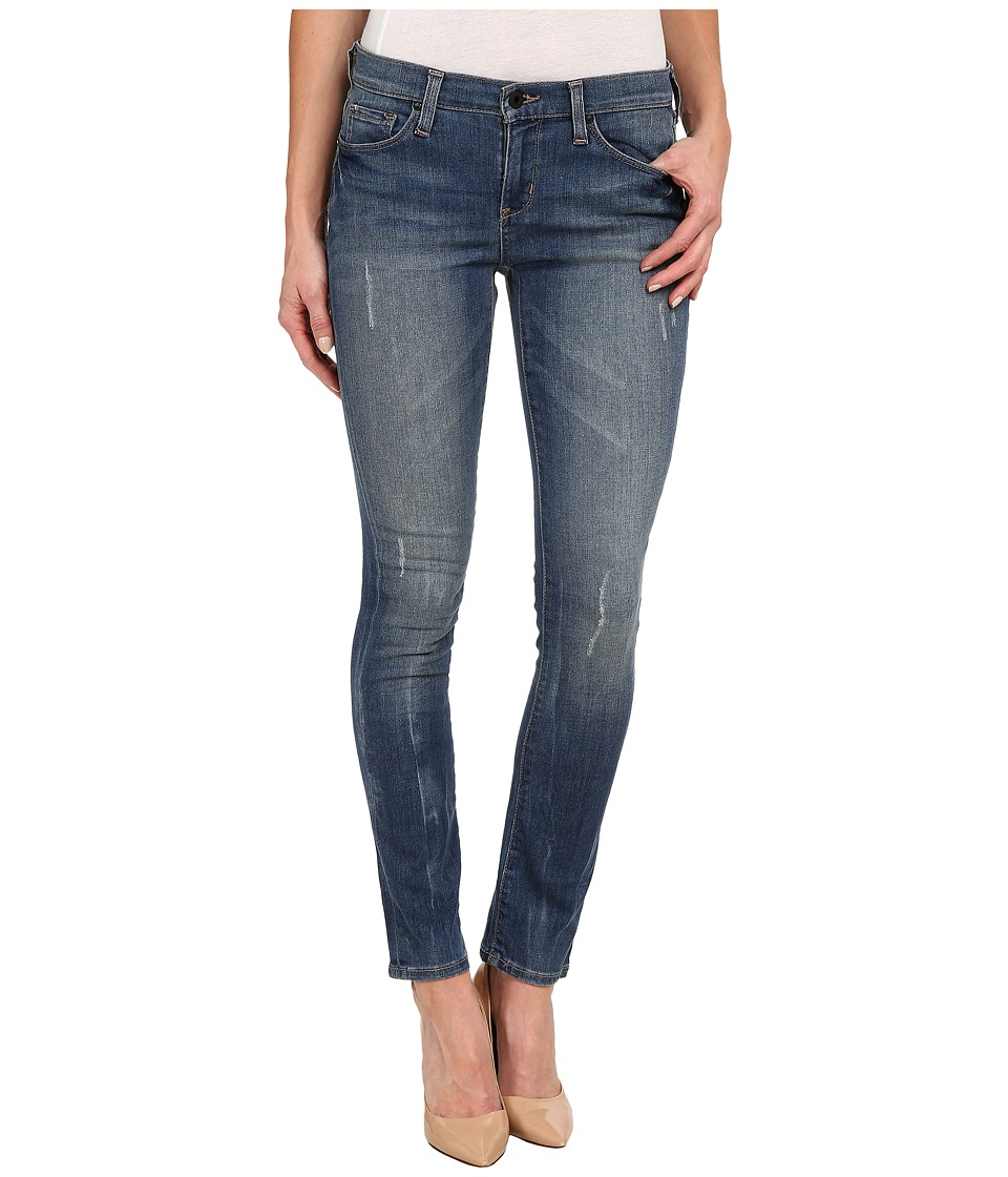 DKNY Jeans - City Ultra Skinny in High Line Blue Wash (High Line Blue Wash) Women