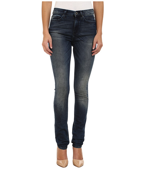 DKNY Jeans - Manhattan High Rise Jeans in Kurt Wash (Kurt Wash) Women