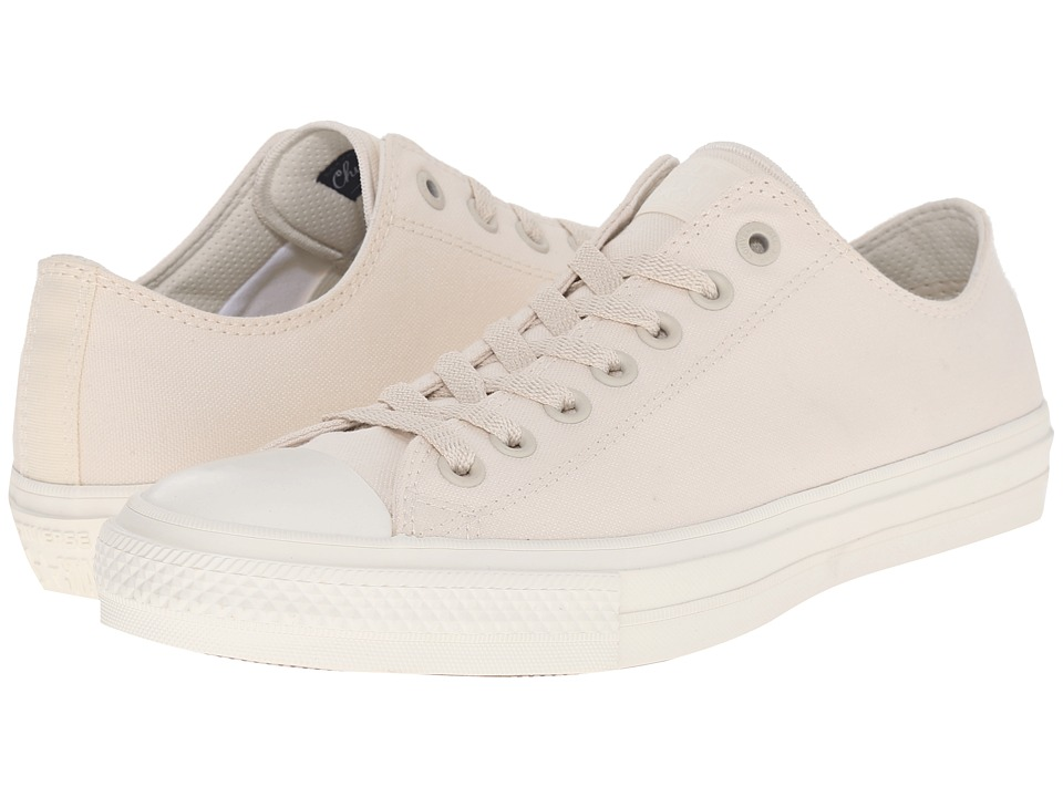 Converse - Chuck Taylor All Star II Premium Canvas - Mono Ox (Parchment/Navy/White) Classic Shoes