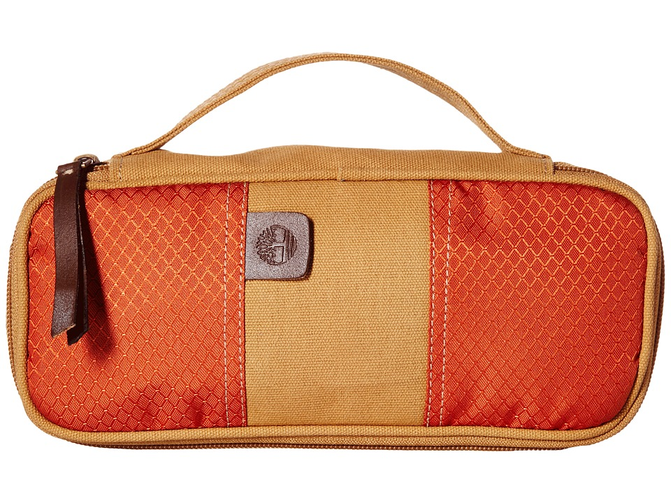 Timberland - Canvas/Nylon Express (Orange) Travel Pouch