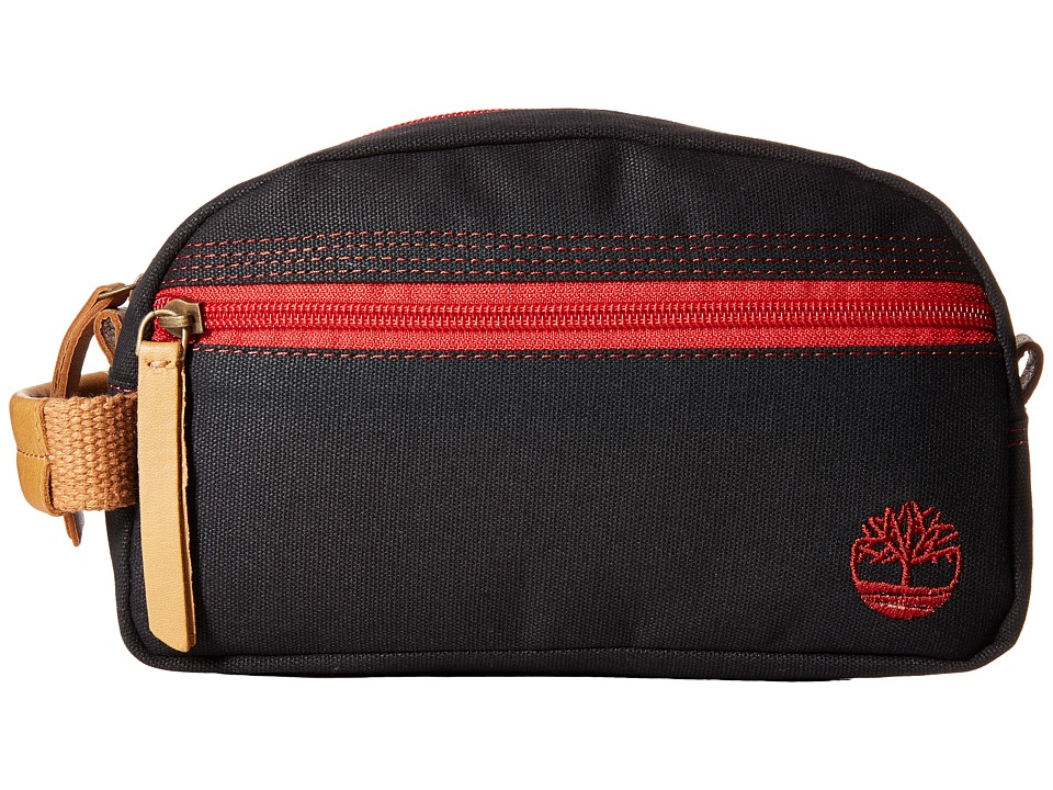 Timberland - Canvas Travel Kit (Black) Travel Pouch