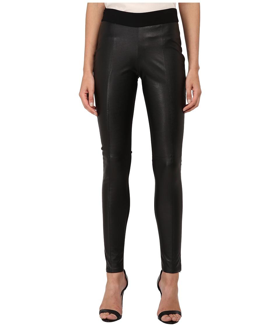 McQ - Contour Leggings (Darkest Black) Women's Casual Pants