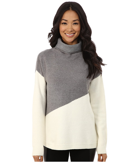 DKNY Jeans - Love Yarn Funnel Neck Tunic (Polar Cream) Women