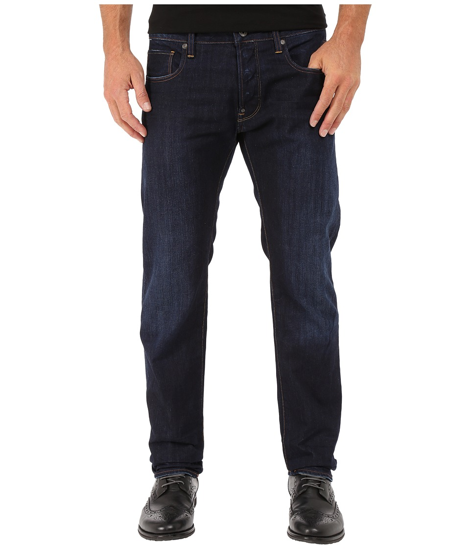 G-Star - Attacc Slim Straight Jeans in Hadron Denim Dark Aged (Hadron Denim Dark Aged) Men's Jeans