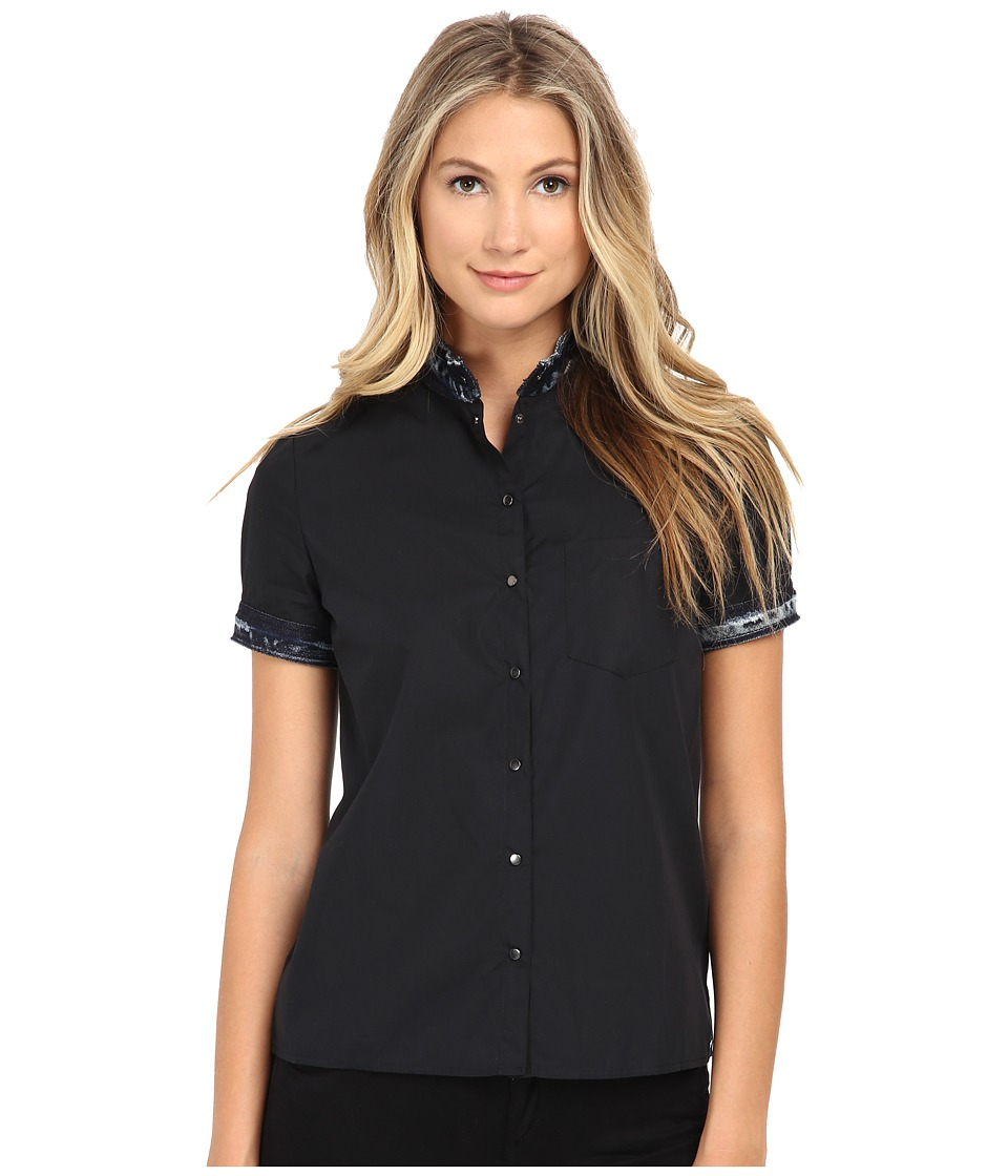 Diesel - C-Levi Shirt (Black) Women's Clothing