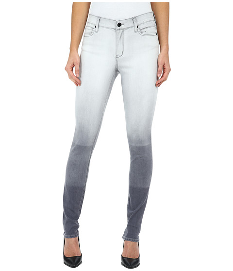 DKNY Jeans - Hang Bleach Manhattan High Rise in Grey (Grey) Women's Jeans