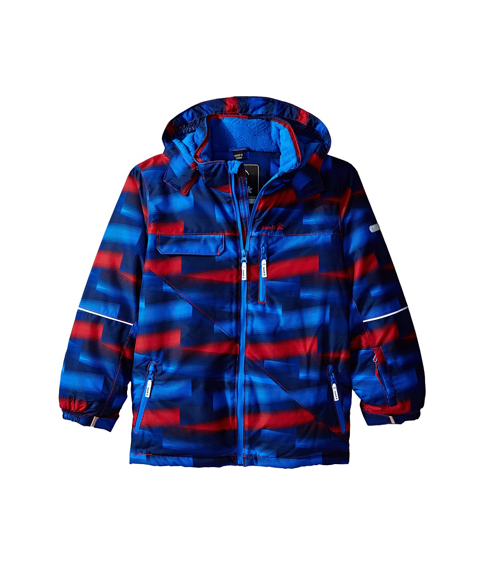 Kamik Kids - Rufus Jacket (Toddler/Little Kid/Big Kid) (True Red) Boy's Coat