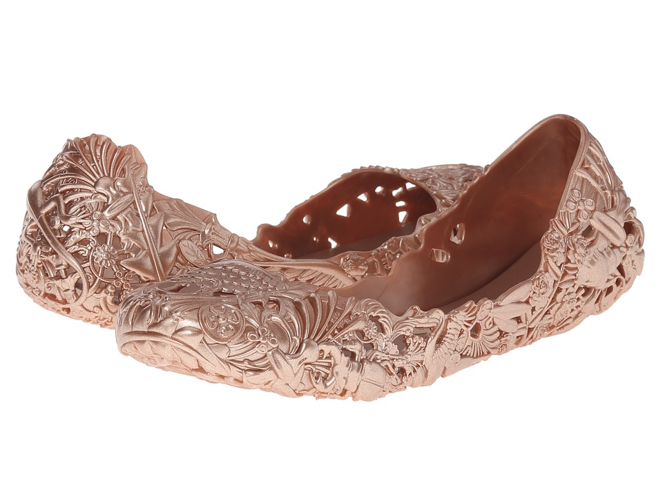 Melissa Shoes Campana Baroca AD (Rose Gold) Women