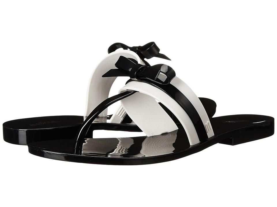 Melissa Shoes Garota AD (Black/White) Women