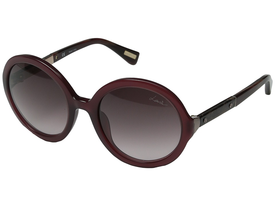 Lanvin - SLN 628M (Purple Plum/Gradient Brown/Pink) Fashion Sunglasses