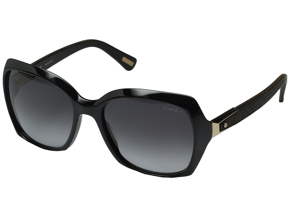 Lanvin - SLN 631 (Black/Gradient Gray) Fashion Sunglasses