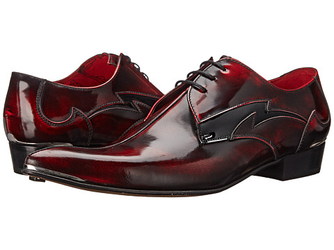 Jeffery-West - Piped (Red) Men's Shoes