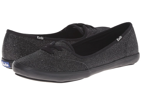 Keds - Teacup Glitter (Black) Women