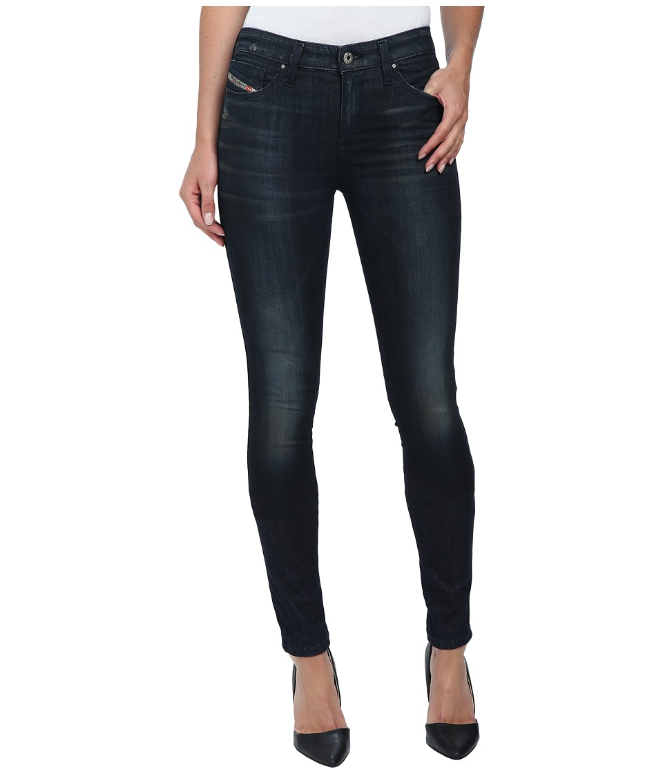 Diesel - Skinzee Trousers 0812 (Denim) Women's Jeans