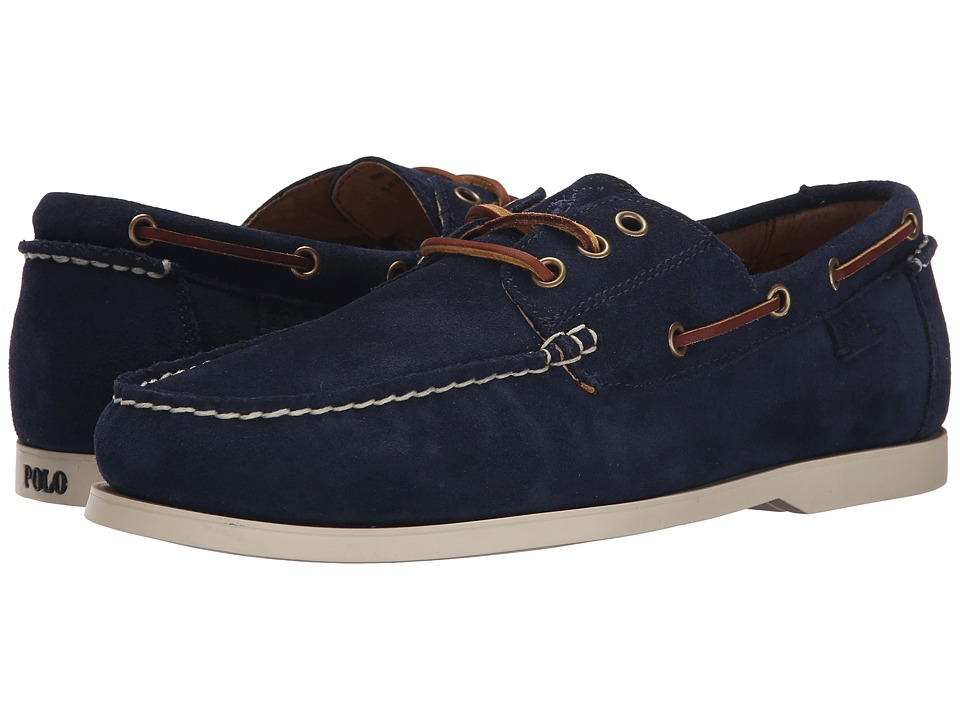 Polo Ralph Lauren - Bienne II (Newport Navy Sport Suede) Men's Lace up casual Shoes
