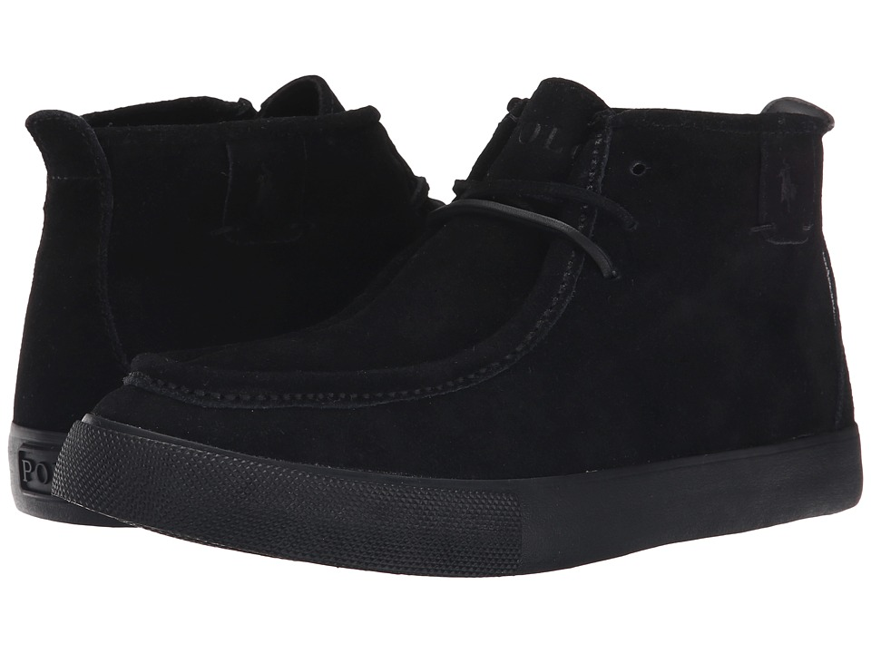 Polo Ralph Lauren - Tron (Black Sport Suede) Men