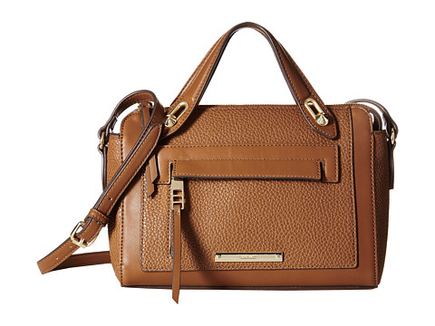 Nine West - Seamingly Attached Medium Crossbody (Tobacco) Cross Body Handbags
