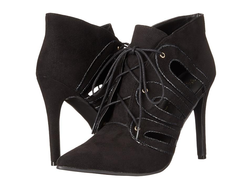 Image of Ann Marino - Anonda (Black Plush) High Heels