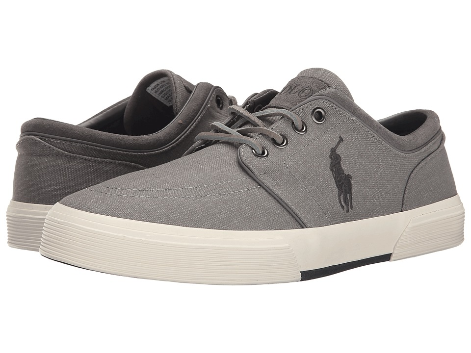 Polo Ralph Lauren Faxon Low (Light Grey Heathered Nylon) Men