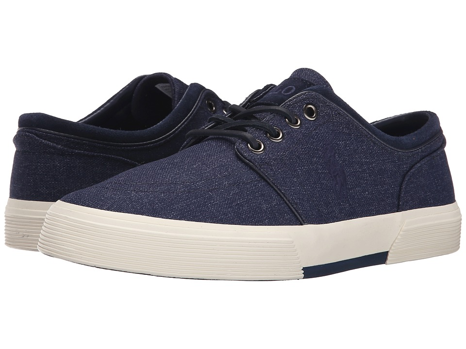 Polo Ralph Lauren Faxon Low (Newport Navy Heathered Nylon) Men