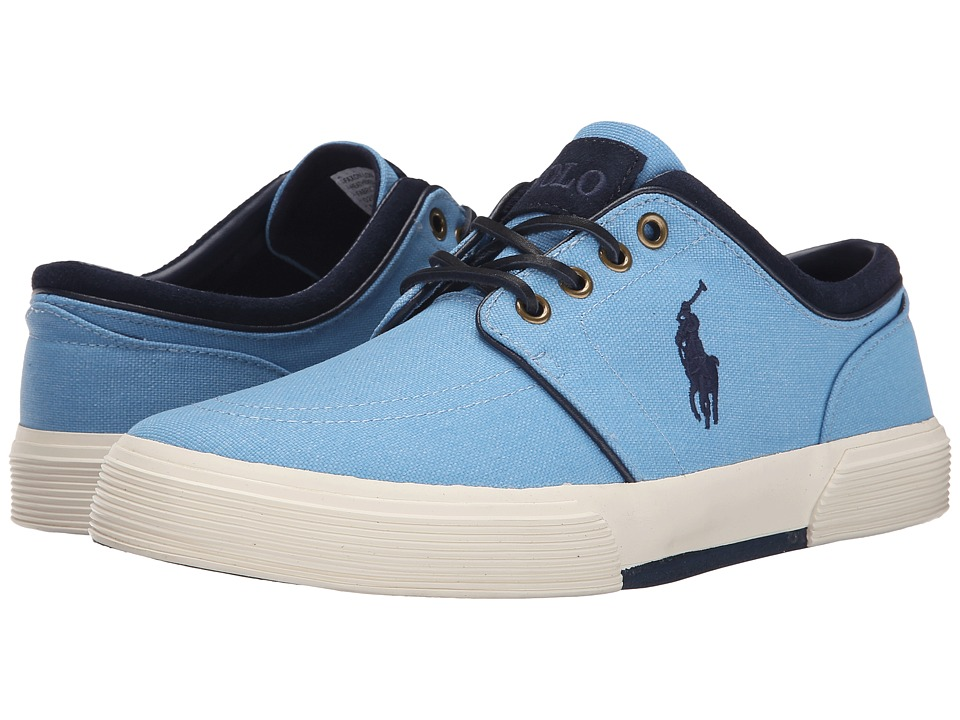Polo Ralph Lauren Faxon Low (Chambray Heathered Nylon) Men